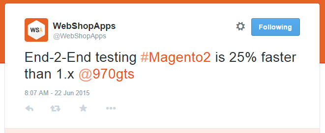end 2 end testing Magento 2
