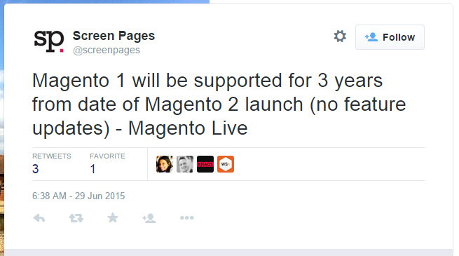 magento support 2 years
