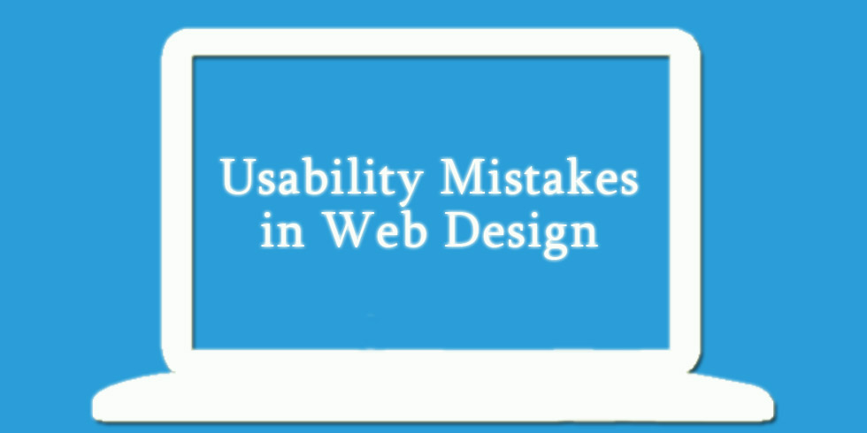 Usability Mistakes in Web Design