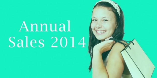 Annual Sales 2014