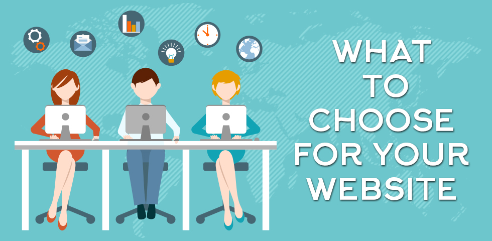 What To Choose For Your Website