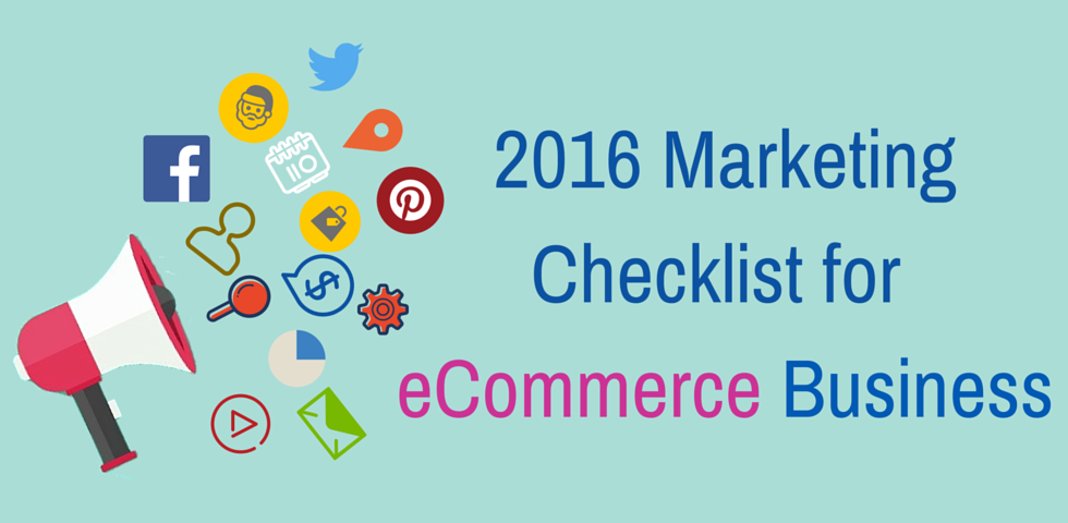 eCommerce Business Marketing Checklist