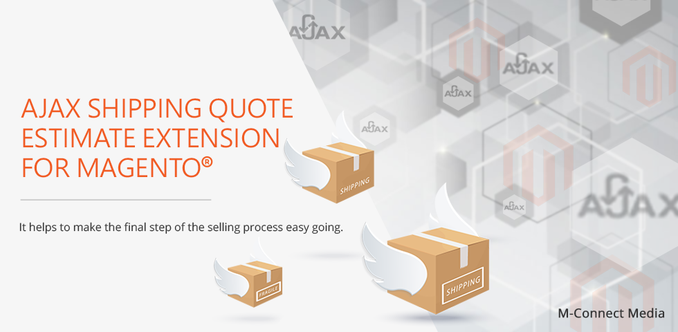 Magento Ajax Shipping Quote Estimate Extension By M-Connect Media