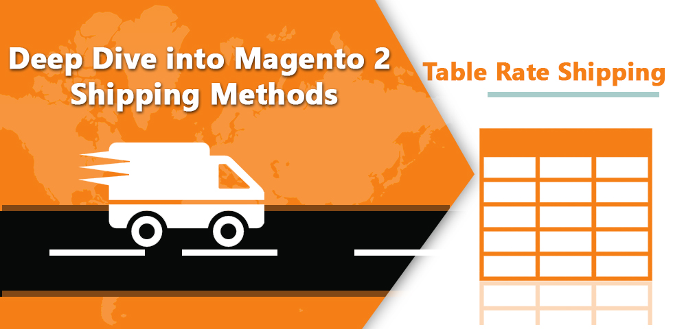 Magento 2 Table Rate Shipping & its Configuration