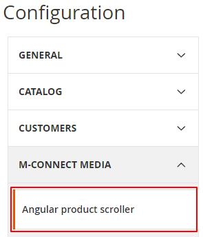 Select Angular Product Scroller