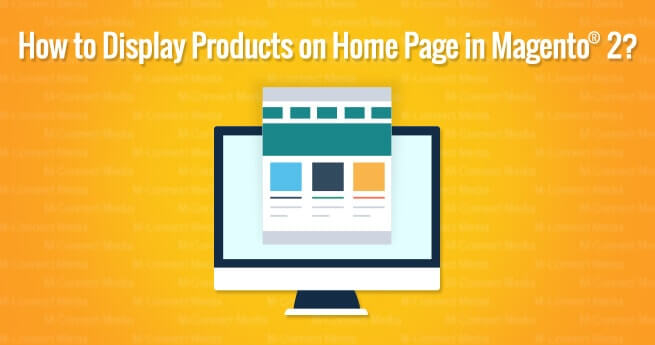 Show Products in Magento Homepage