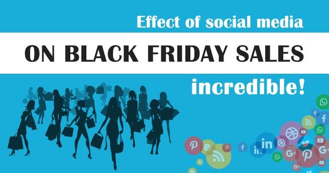 Black Friday Social Media effect