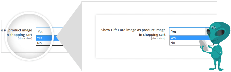 Show Gift Card Image