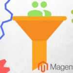 illustration of magento conversion funnel