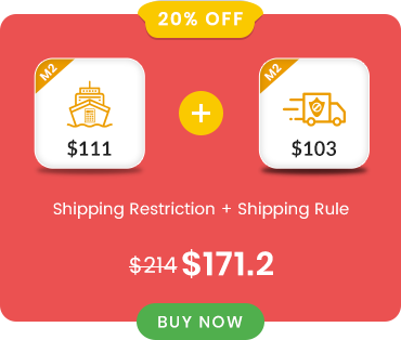 Shipping Restriction and Shipping Rule