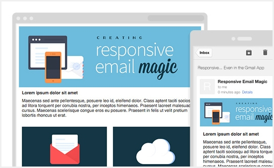 Customize design of any email template as your need.
