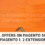 Special Discounts on Magento