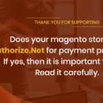 Magento Website Integrated with Authorize.Net
