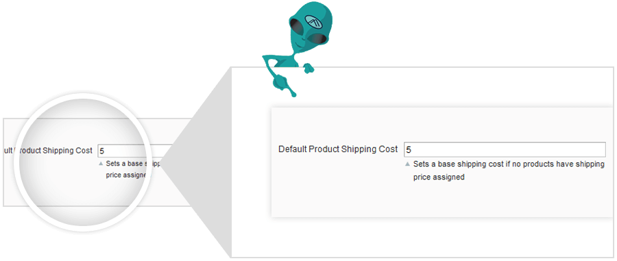 flat rate shipping extension