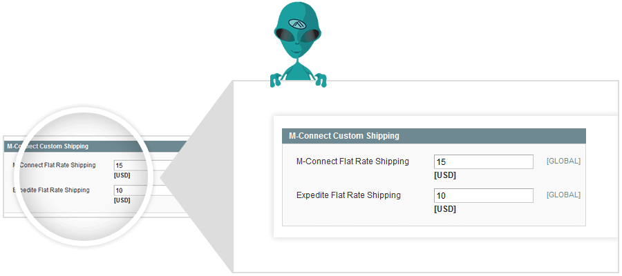 magento custom shipping module