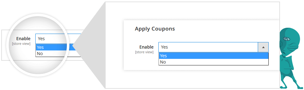 restrict shippment for coupon