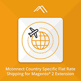 Country Specific Flat Rate Shipping Extension for Magento 2