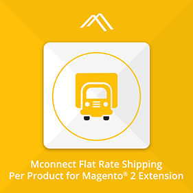 Flat Rate Shipping Per Product Extension for Magento 2
