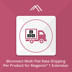 Multi Flat Rate Shipping Per Product Extension for Magento