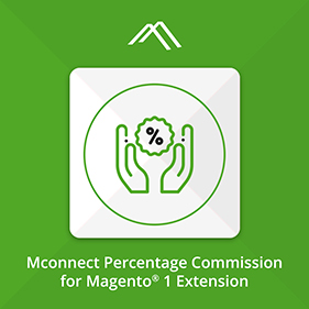Percentage Commission Extension for Magento