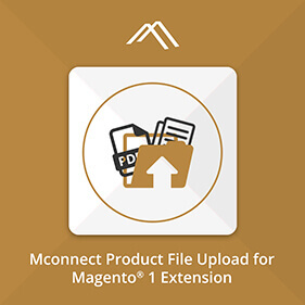 Mconnect Product File Upload Extension for Magento®