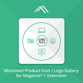 Mconnect Product Icon / Logo Gallery for Magento®
