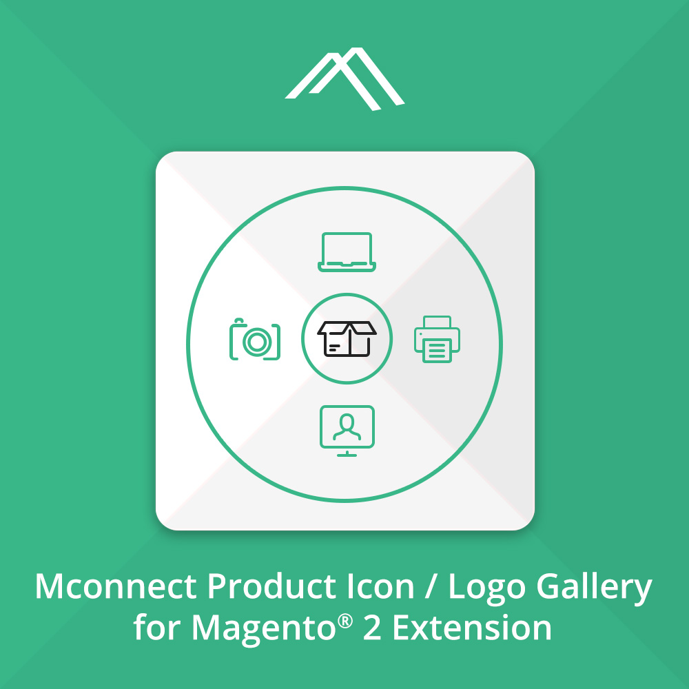 Mconnect Renew Product Icon / Logo Gallery Extension for Magento® 2