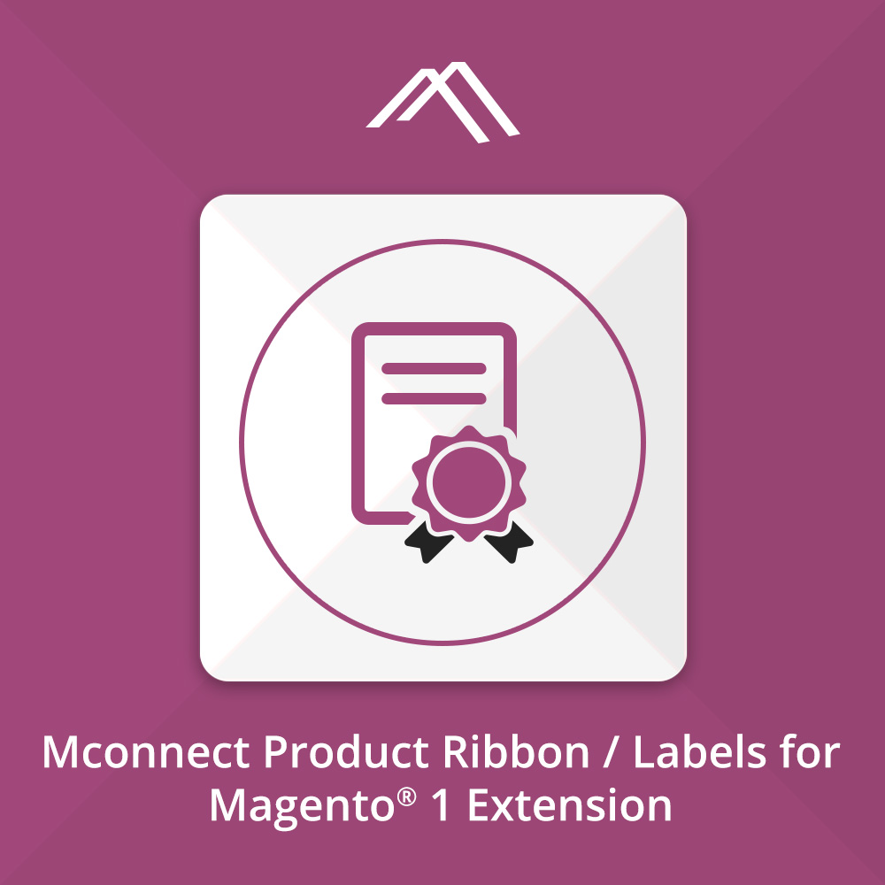 Mconnect Renew Product Label/ Ribbon Extension for Magento 2